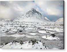 Etive Mor Winter Acrylic Print