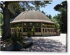 Eugene Friend Carousel At The San Francisco Zoo San Francisco California Dsc6328 Acrylic Print
