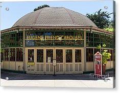 Eugene Friend Carousel At The San Francisco Zoo San Francisco California Dsc6331 Acrylic Print