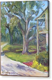 Eugenia Price's Home Acrylic Print by Albert Fendig