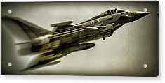 Eurofighter Typhoon Acrylic Print by Martin Newman