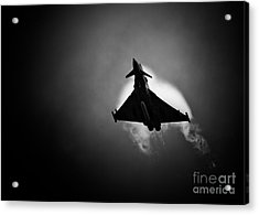 Eurofighter Typhoon Acrylic Print by Rastislav Margus