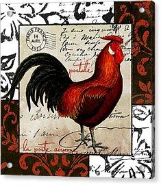 Europa Rooster II Acrylic Print