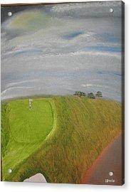 European Golf Tour Acrylic Print by Edwin Long