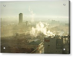 Evanescent Light On Fog Acrylic Print