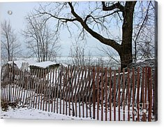 Evanston Winter Acrylic Print