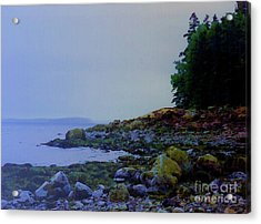 Eve At The Mount Acrylic Print