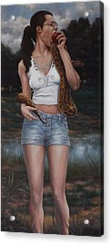 EVE Acrylic Print by Harvie Brown