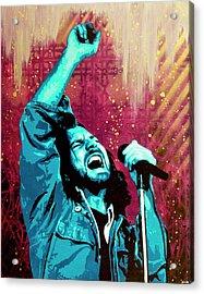 Even Flow Acrylic Print by Bobby Zeik