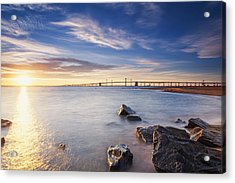 Acrylic Print featuring the photograph Even The Mistakes Aren't Really Mistakes At All by Edward Kreis