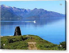 Evenes, Fjord In The North Of Norway Acrylic Print