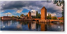 Evening After The Rain On The Ponts Couverts Acrylic Print