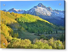 Acrylic Print featuring the photograph Evening Along County Road 7 by Ray Mathis