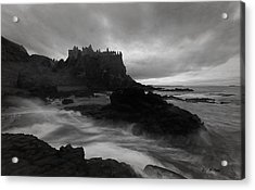 Evening At Dunluce Acrylic Print by Roy  McPeak