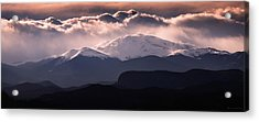 Evening At Evans Acrylic Print