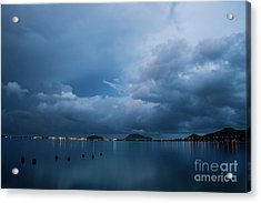 Evening At Kaneohe Bay Acrylic Print