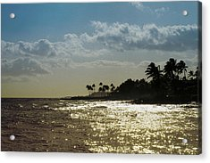 Evening At Poipiu Kauai Acrylic Print