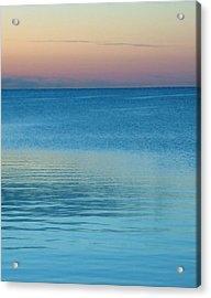 Evening At The Lake Acrylic Print