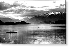 Evening At Wanaka Acrylic Print
