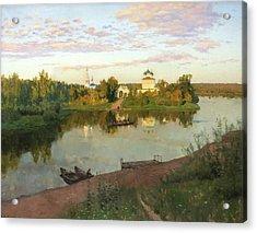 Evening Bells Acrylic Print by Isaac Levitan