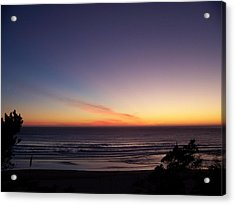 Acrylic Print featuring the photograph Evening Comes by Angi Parks