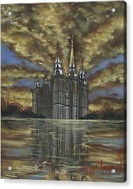 Evening Glory Acrylic Print by Jeff Brimley