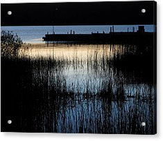 Evening Glow Acrylic Print by Mary Wolf