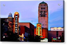 Evening In Ann Arbor Acrylic Print