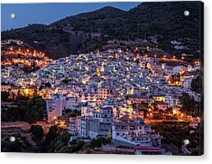 Evening In Competa Acrylic Print