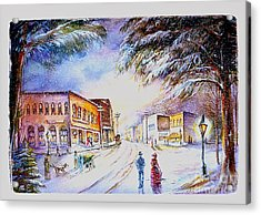 Evening In Dunnville Acrylic Print