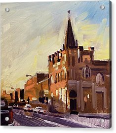 Evening In Fairfield Acrylic Print by Spencer Meagher