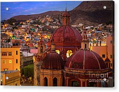 Evening In Guanajuato Acrylic Print by Inge Johnsson