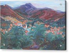 Evening In Guanajuato Acrylic Print