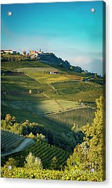 Acrylic Print featuring the photograph Evening In Piemonte by Brian Jannsen