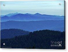Oregon Blues  Acrylic Print