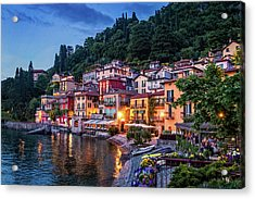 Evening In Varenna Acrylic Print