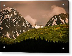 Evening Light Kenai Peninsula Acrylic Print