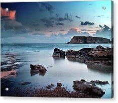 Evening Light On St. Georges Island Acrylic Print by Amanda Finan