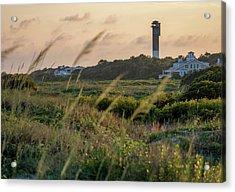 Evening Light Sullivan's Island Acrylic Print