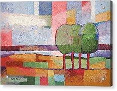 Evening Mood Acrylic Print by Lutz Baar