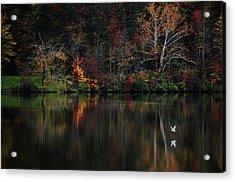 Evening On The Lake Acrylic Print