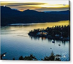 Evening Over Rosario Resort Acrylic Print
