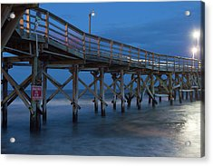 Evening Pier Acrylic Print