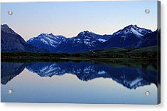 Acrylic Print featuring the photograph Evening Reflection by Blair Wainman