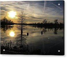 Evening Reflections  Acrylic Print