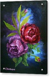 Evening Roses Acrylic Print