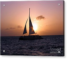 Evening Sail Acrylic Print