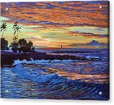 Evening Sail Hawaii Acrylic Print