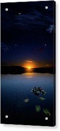 Evening Shades Acrylic Print by Mark Andrew Thomas