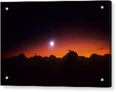 Evening Star Acrylic Print